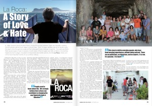 Raul Santos La Roca in The Gibraltar Magazine